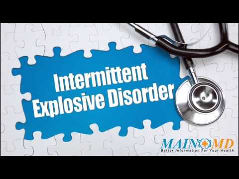 An overview of the intermittent explosive disorder