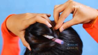 iLook - 4 Hairstyles with chopstick
