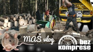 Pracuji v lese? 🛠 Nasrání z Vilíka 😡 Mišmaš vlog_10