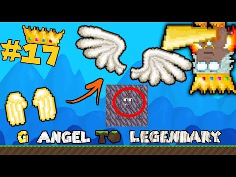HACKER!!! 😱 | G Angel to LEGENDARY #17 | Growtopia
