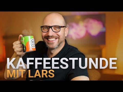 Kaffeestunde mit Lars (mit Hafermilch-Schaum)