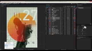 Speed-AE-Tutorial / Erstellen ein Plakat in After effects
