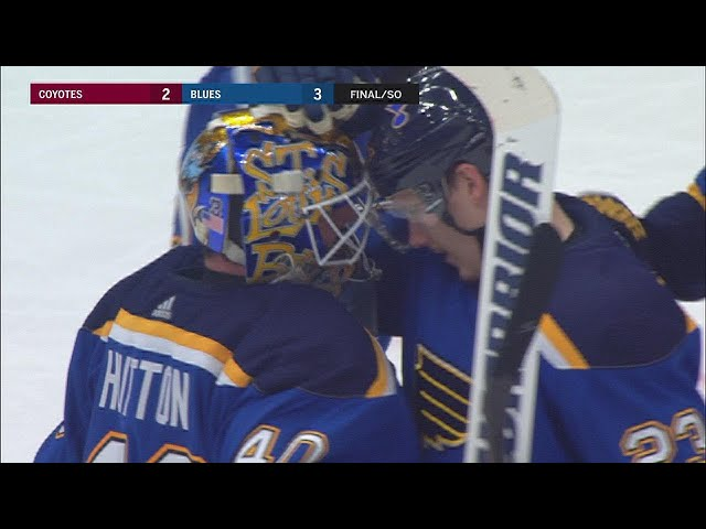 Schenn, Steen help lead Blues to shootout win