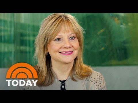 Mary Barra, First Female Auto Industry CEO, On Women And Leadership | TODAY