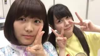 2016年06月12日15時19分 横島亜衿、大川莉央.