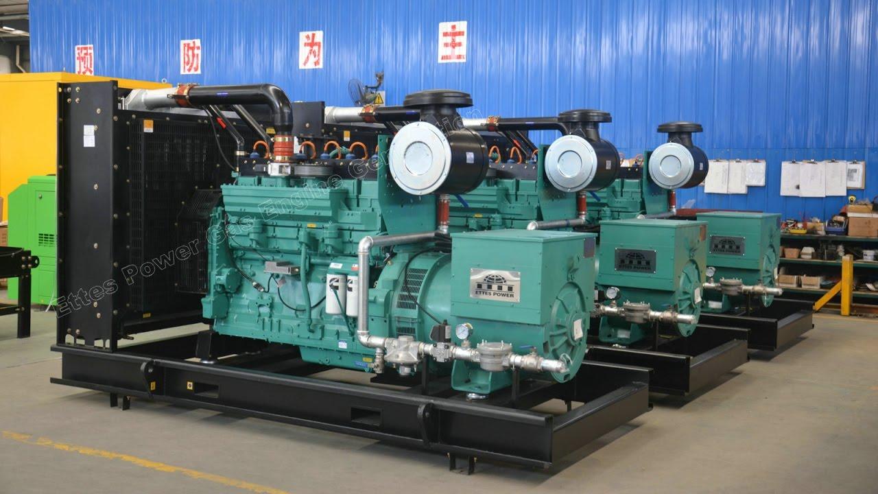 Commissioning-Ettes Power 200kw/300kw Cummins Natural Gas Oilfield Gas  Engine Generator-Ettespower