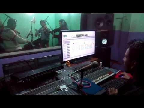 Nepali Grup Violin Recording By RAJIV SHAH  RECORDING TIME IN STUDIO