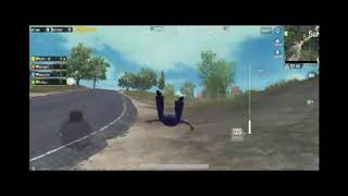 PUBG mobile fly glitch,fly like superman funny moment.