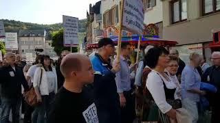 Demo gegen Krankenhaus-Aus in Kirn