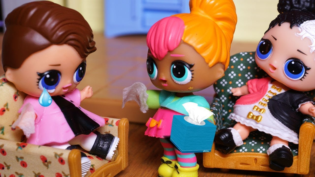Lol Surprise Dolls Posh Comes To Apologize To To Barbie