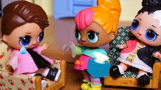 LOL SURPRISE DOLLS Posh Comes To Apologize To To BARBIE And LOL SURPRISE DOLLS!