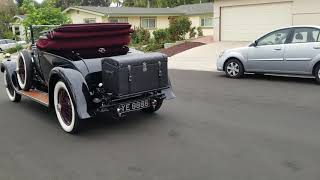 1926 and 7 Rolls Royce Park Ward Coupe convertible