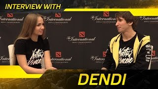 Interview with Dendi @ The International 2016 (ENG SUBS!)