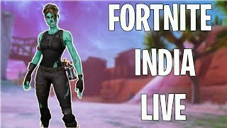 LETS DO CUSTOM GAMES!| GALAXY SKIN GIVEAWAY ON 700 SUBS| FORTNITE INDIA LIVE