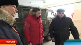 Александр Цыбульский ознакомился с работой станции по борьбе с болезнями животных