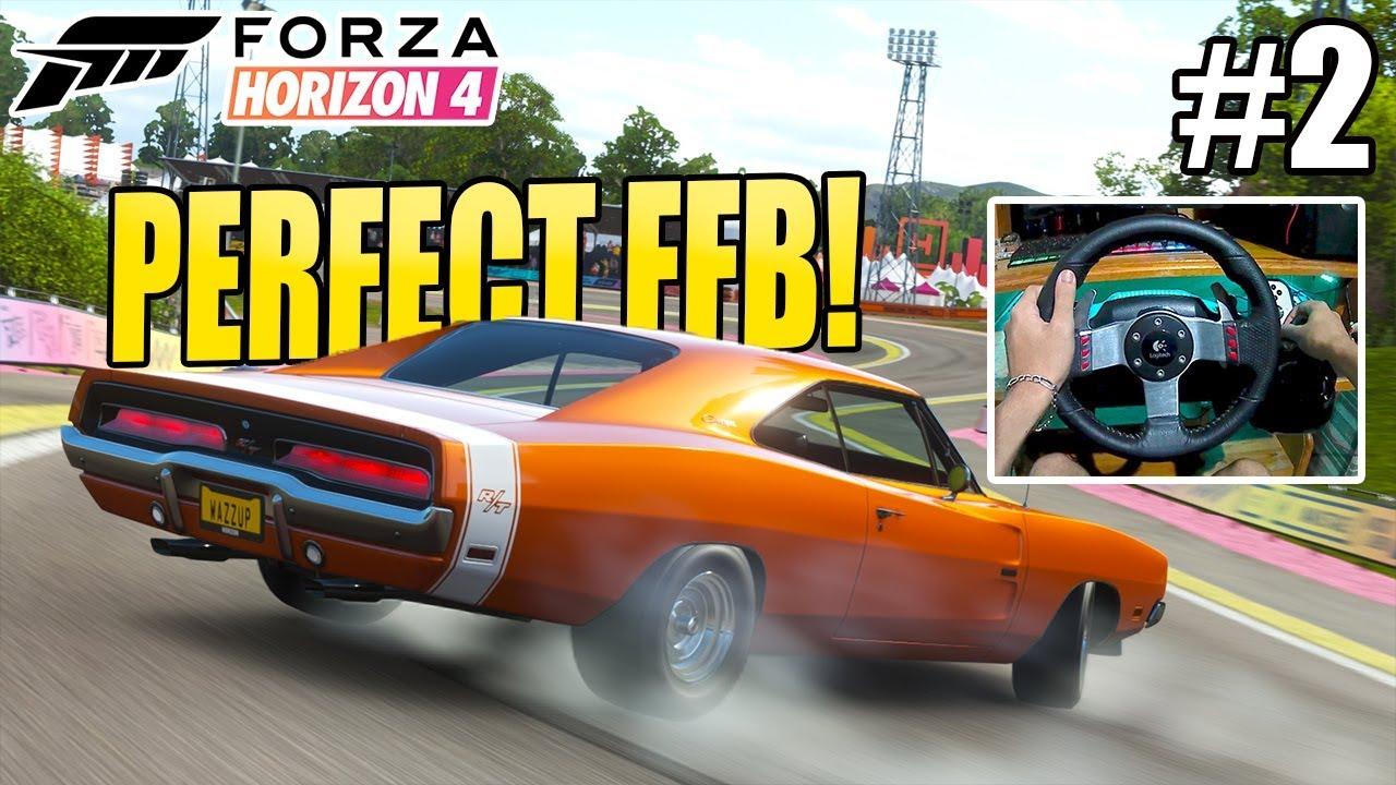 Download PERFECT FFB FOR DRIFT/RACE! | MY WHEEL SETTINGS - Forza Horizon 4 W/Logitech G27 + Excelvan Q8 4K #2
