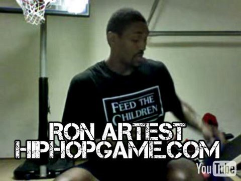HipHopGame.com Video Blog: Ron Artest Workout