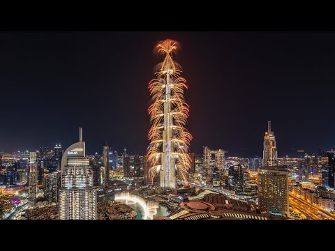 Dubai 2021 Full Light Show Live Burjkhalifa || Welcome To Dubai || New Year Celebrations
