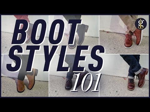 7 Awesome Fall/Winter Boot Styles For Men | My Boot Collection + Styling Inspiration