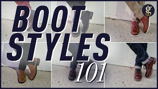 7 Awesome Fall/Winter Boot Styles For Men   My Boot Collection + Styling Inspiration