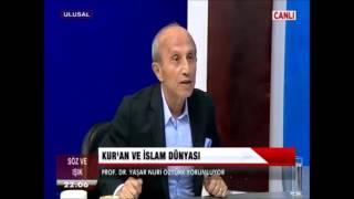 Yaşar Nuri Öztürk  -  Kurani dinlemeyin yaygara yapin, necip fazil, ebuleheb