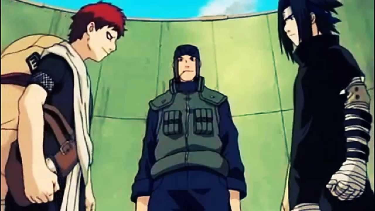 Sasuke vs Gaara || Finisterra || AMV || HD