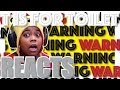 T Is For Toilet | Beware The Toilet Will Kill You | Lee Hardcastle Reaction | AyChristene Reacts