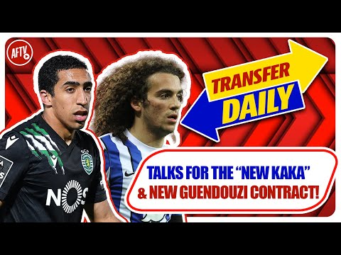 """Talks For The """"New KAKA""""& New Guendouzi Contract!   AFTV Transfer Daily"""