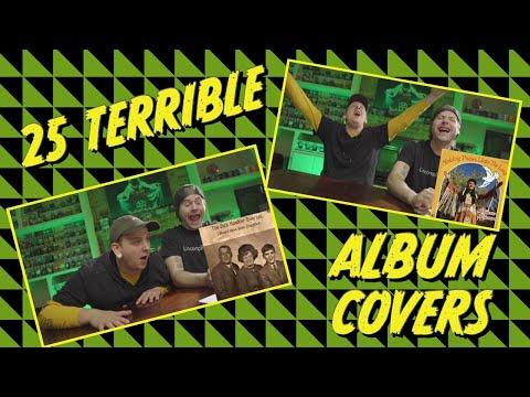 25 TERRIBLE album covers