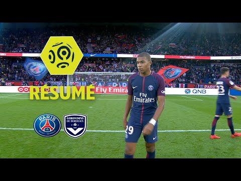 Paris Saint-Germain - Girondins de Bordeaux (6-2)  - Résumé - (PARIS - GdB) / 2017-18