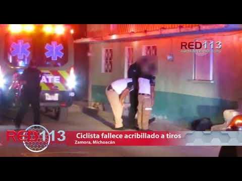 VIDEO Ciclista fallece acribillado a tiros en Romero de Torres