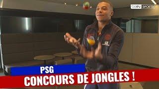 PSG : Cavani, Mbappé, Di Maria... Les joueurs s'affrontent dans un concours de jongles !