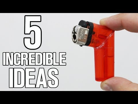 5 Incredible Ideas And Life Hacks