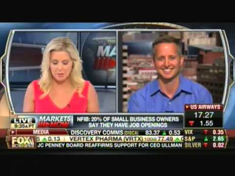 Clint Greenleaf on Fox Business with Cheryl Casone - NIFB 13 Aug 13