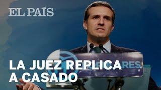 Las contradicciones de PABLO CASADO, según la JUEZ | CASO MÁSTER