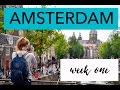 Study Abroad Vlog: Amsterdam Week 1