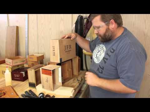 Build a Cigar Box Edison Lamp