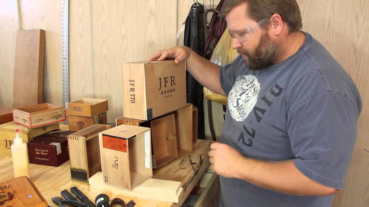 Build A Cigar Box Edison Lamp