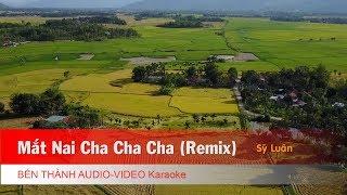 KARAOKE | Mắt Nai Cha Cha Cha (Remix) - St. Sỹ Luân | Beat Chuẩn