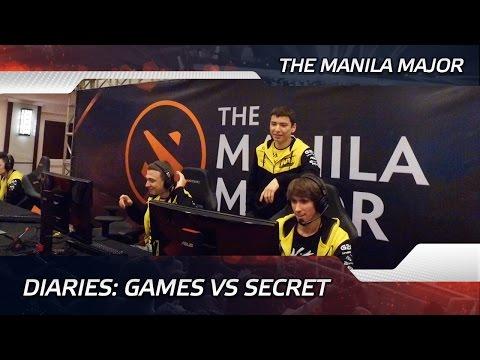 Diaries: Games vs Team Secret @ The Manila Major (ENG SUBS)