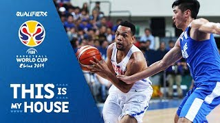 Chinese Taipei v Philippines - Full Game -3rd Window-FIBA Basketball World Cup 2019 Asian Qualifiers