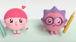 Малышарики - Умные песенки - Круг | Мультики для самых маленьких