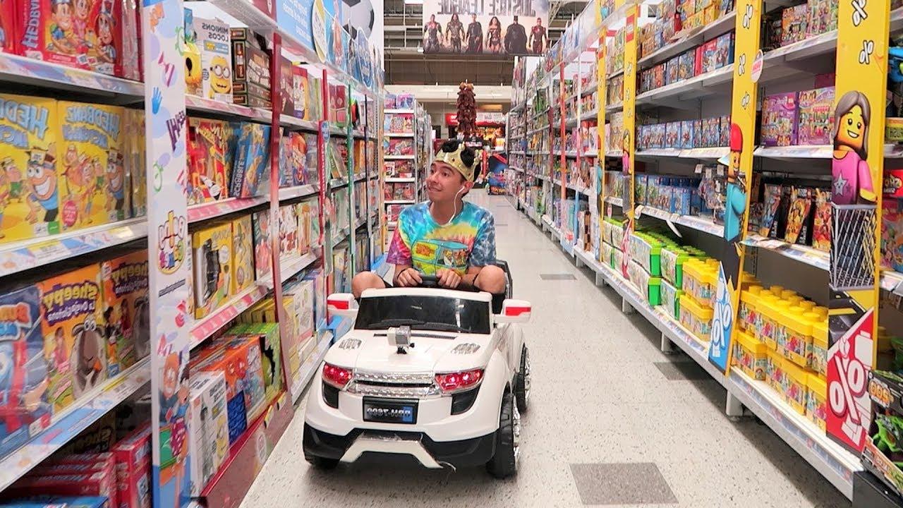 Voy A La Jugueteria En Un Carro De Juguete Juguetes Vs Ami Youtube