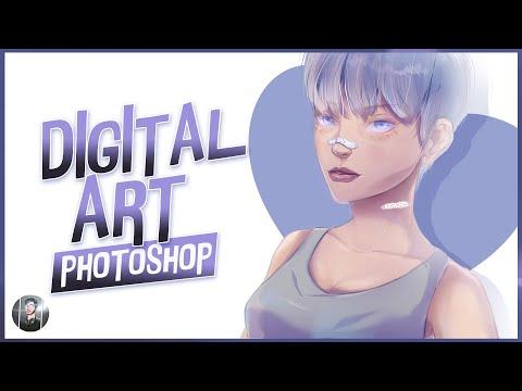 DIGITAL ART – Photoshop process   Arsacre