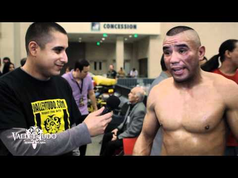 STFC18 Post Fight Danny Salinas