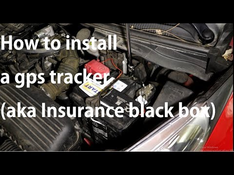 How to install an insurance black box in your car