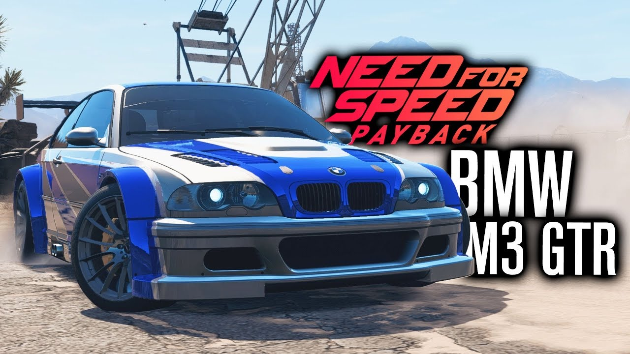 Need For Speed Payback Bmw M3 Gtr Most Wanted Customization