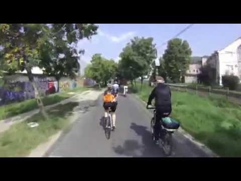 Cycling along the Danube - Leaving Budapest