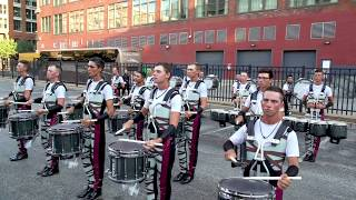 DCI in the Lot: The Cadets Drum Line