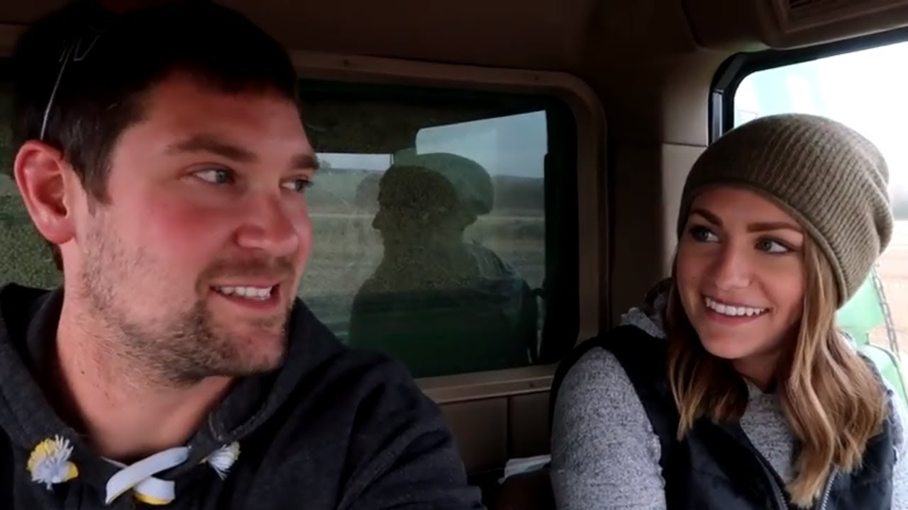 Harvesting our Soybean Test Plot - YouTube